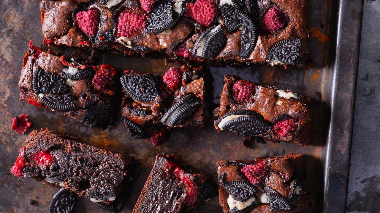 Oreo brownies smalinami