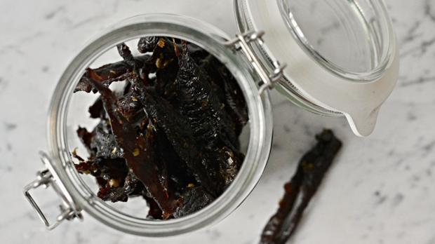 Sušené hovězí maso – jerky