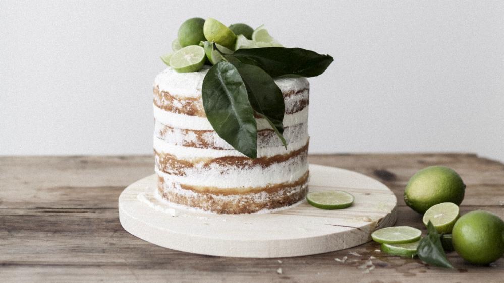 Limetkový dort