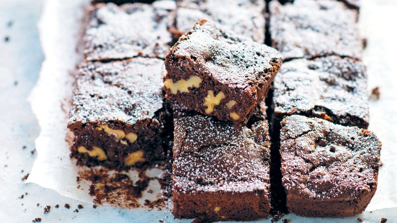 Tradiční ořechové brownies