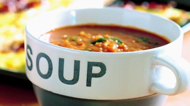 Rajčatovo-česneková polévka