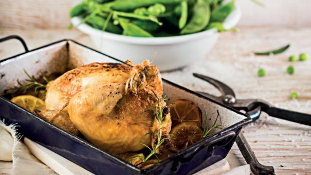 Kuřátka s hráškovou nádivkou