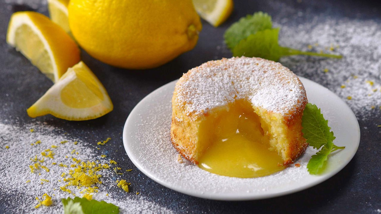 Žhavé citronové bábovičky