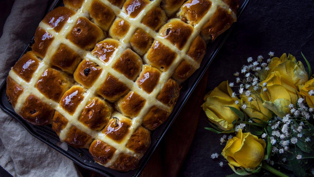 Hot cross buns – anglické mazanečky