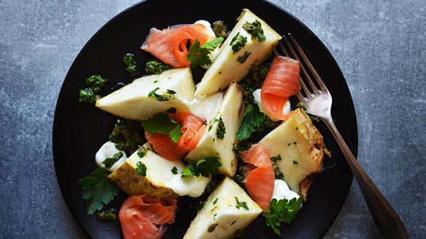 Celer pečený ve slaném těstě
