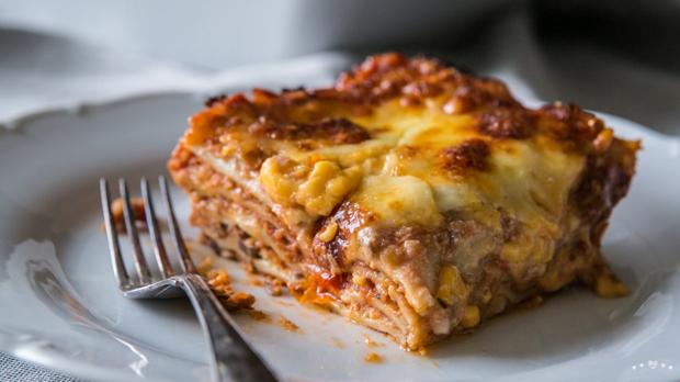 Vegetariánské lasagne