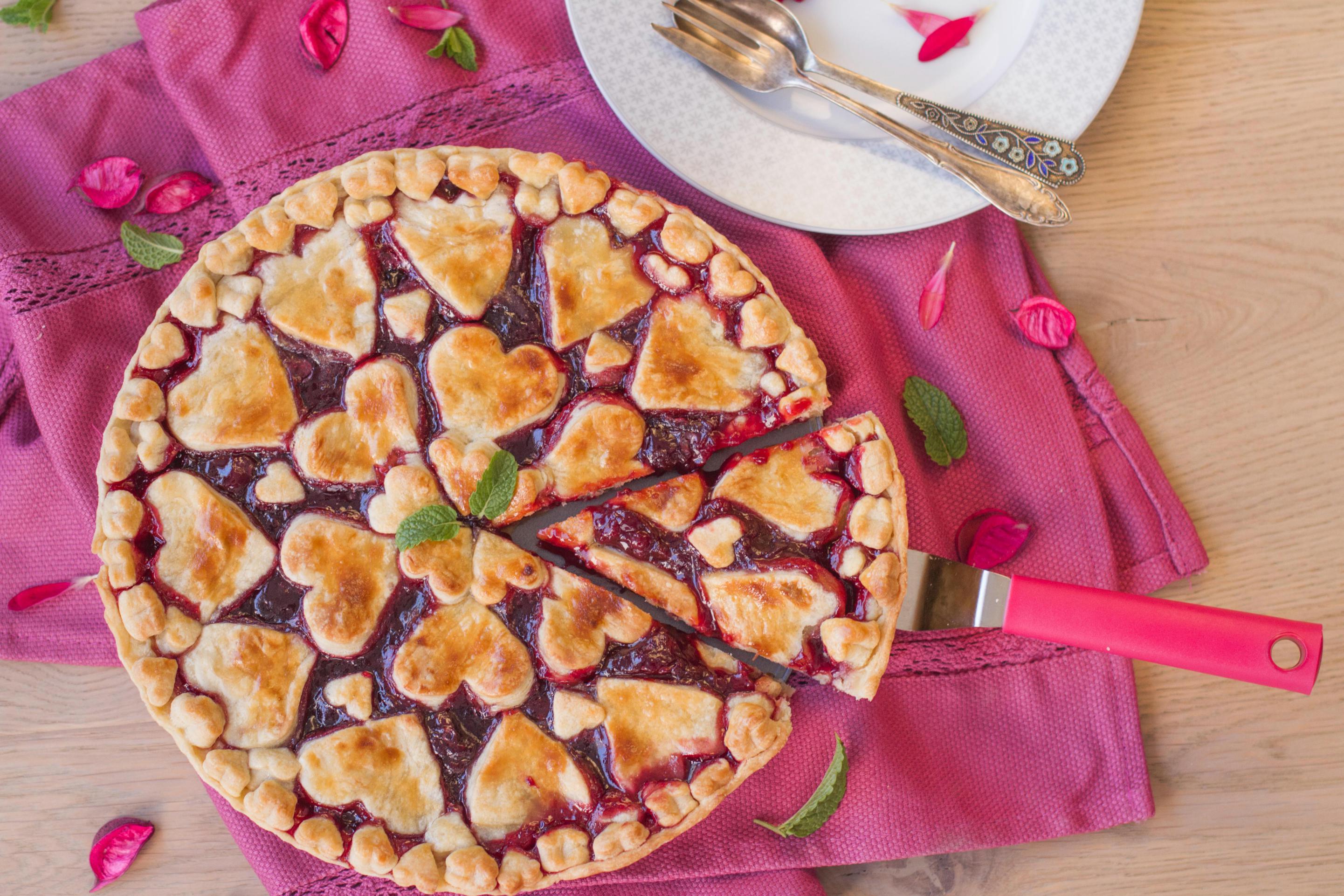Zamilovaný linecký koláč