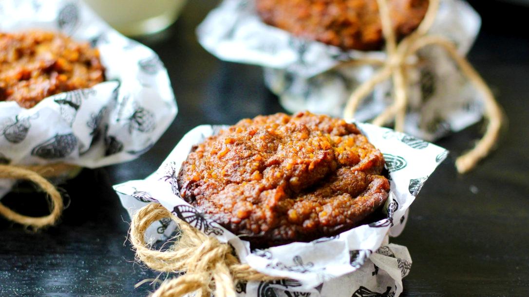 Bezlepkové dýňové muffiny