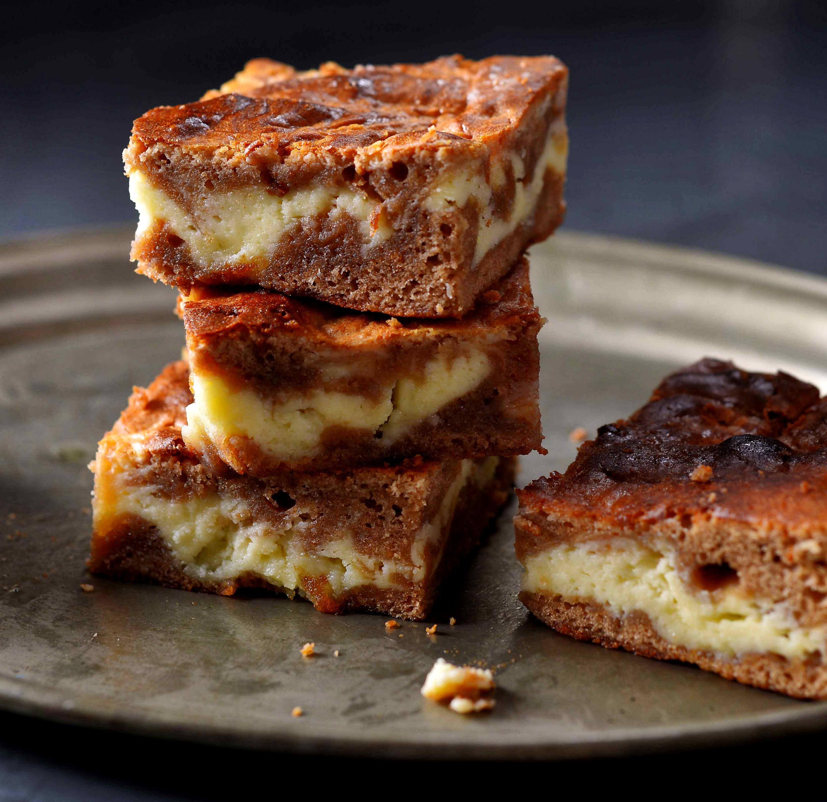Brownies à la cheesecake