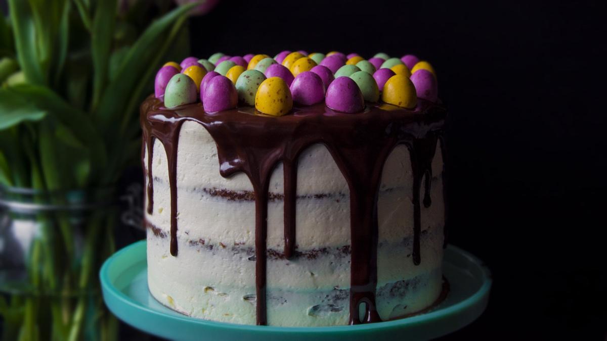 Sváteční dezerty: velikonoční mrkvový dort