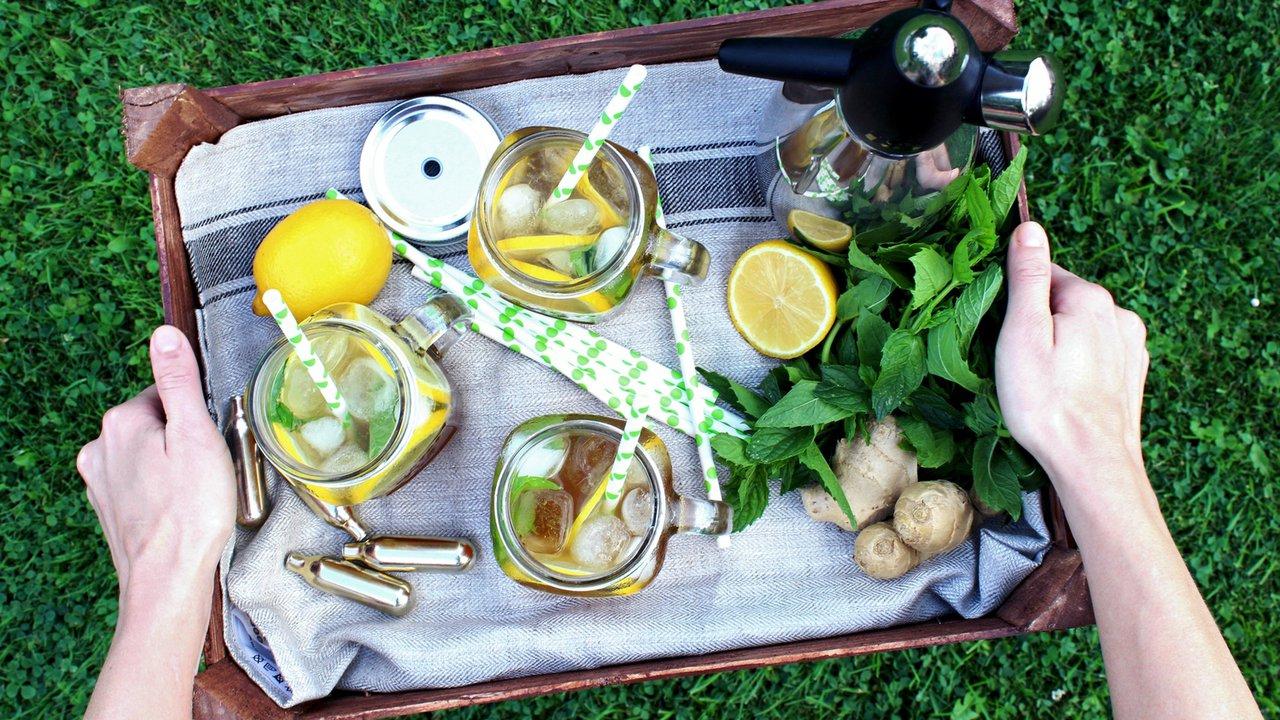 Zázvorová limonáda scitronem amátou