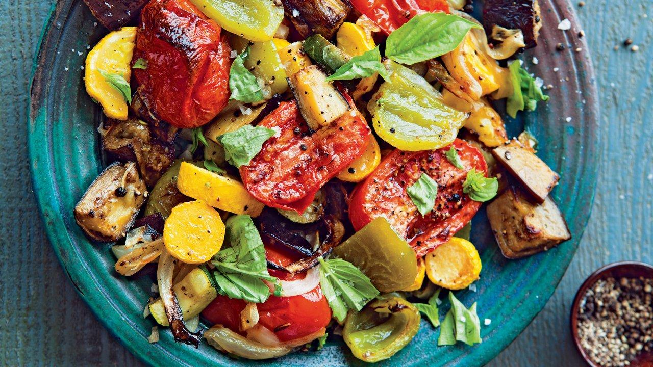 Léto na talíři: Pečené ratatouille