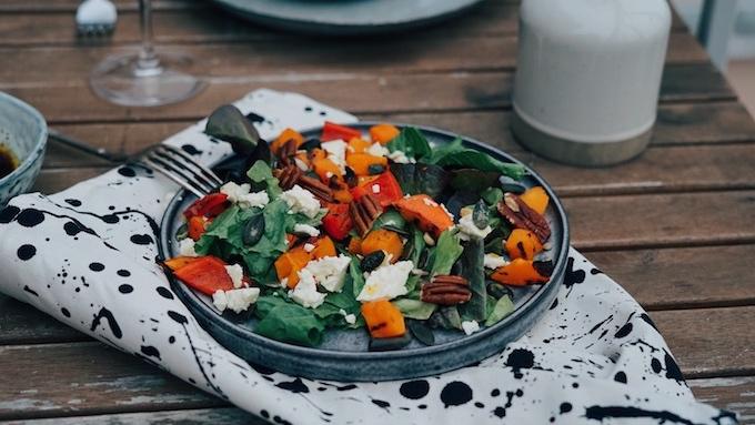 Podzimní salát sdýní