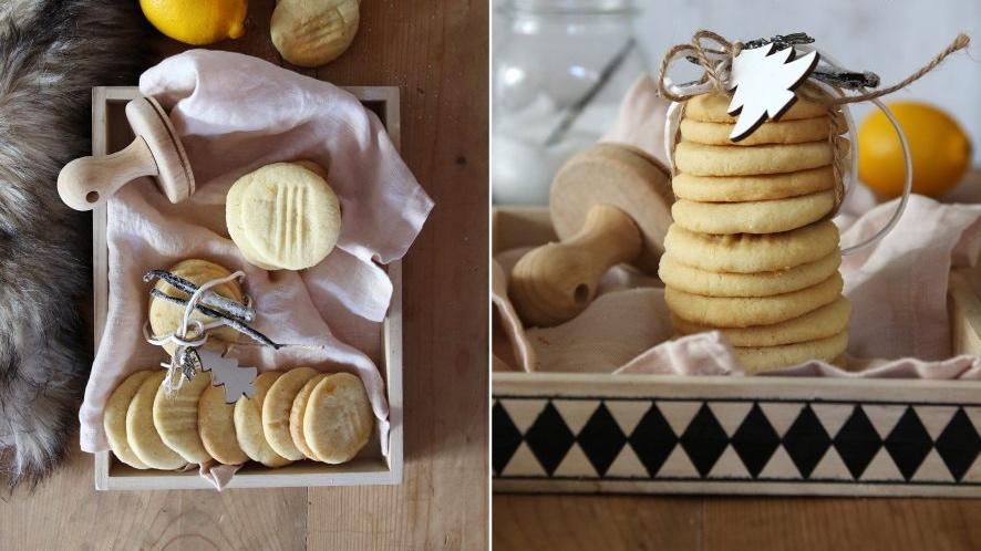 Skotské máslové sušenky