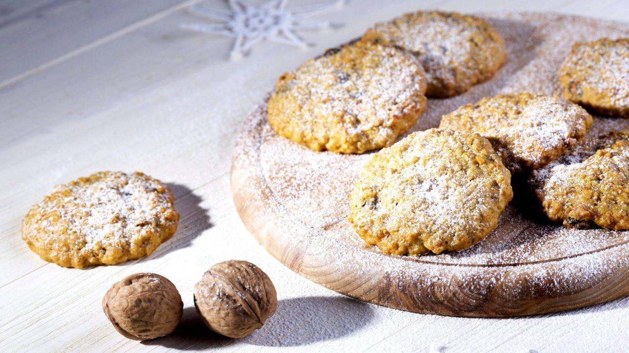 Mrkvové sušenky sovesnými vločkami