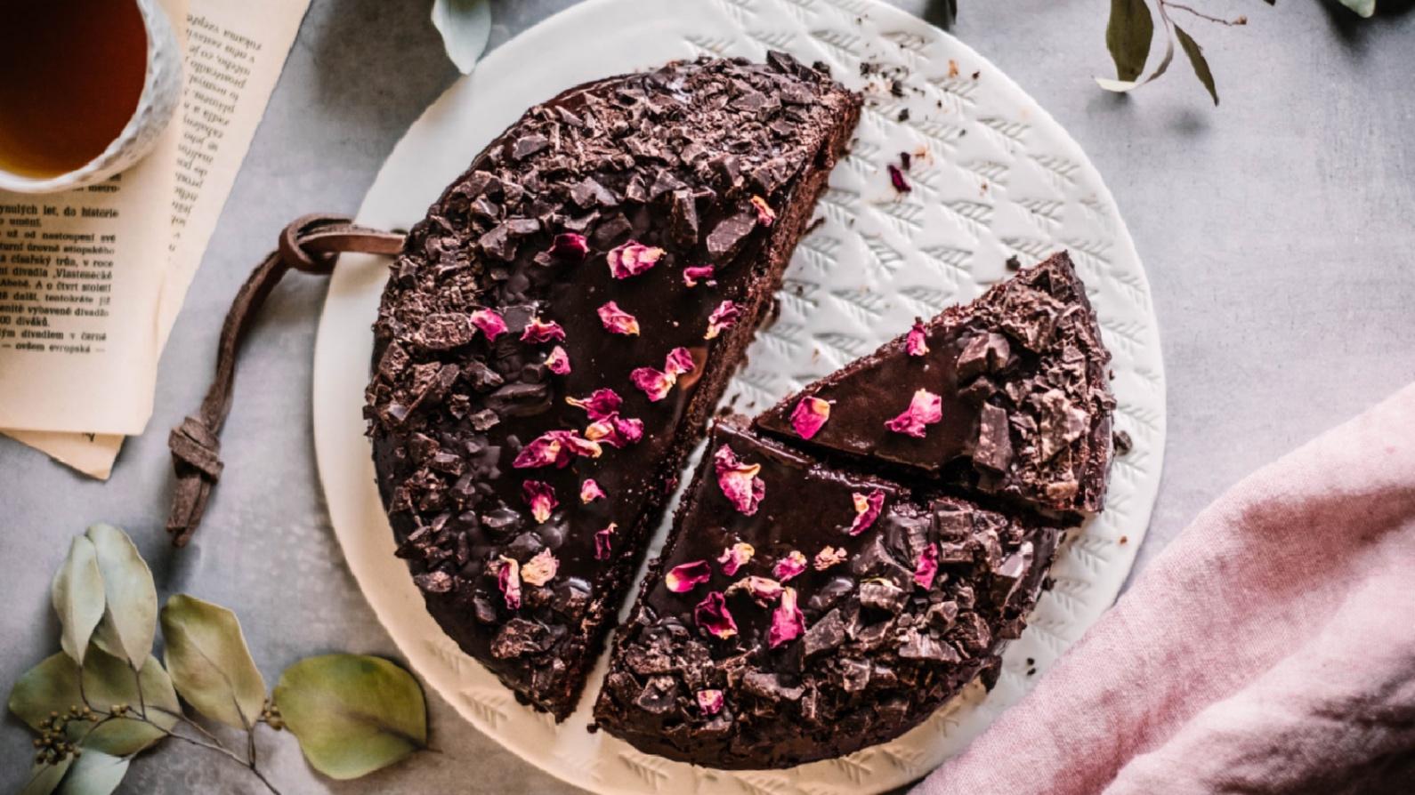 Originální recept na čokoládový Sachr dort