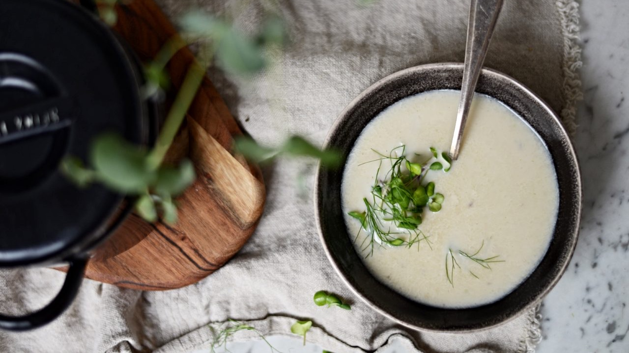 Polévka z bílých fazolí