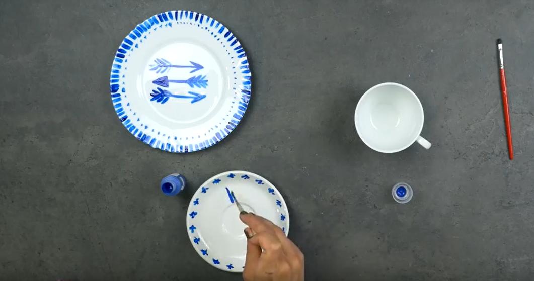 Rucne Malovany Porcelan Vytvorte Si Originalni Soupravu Na Snidani