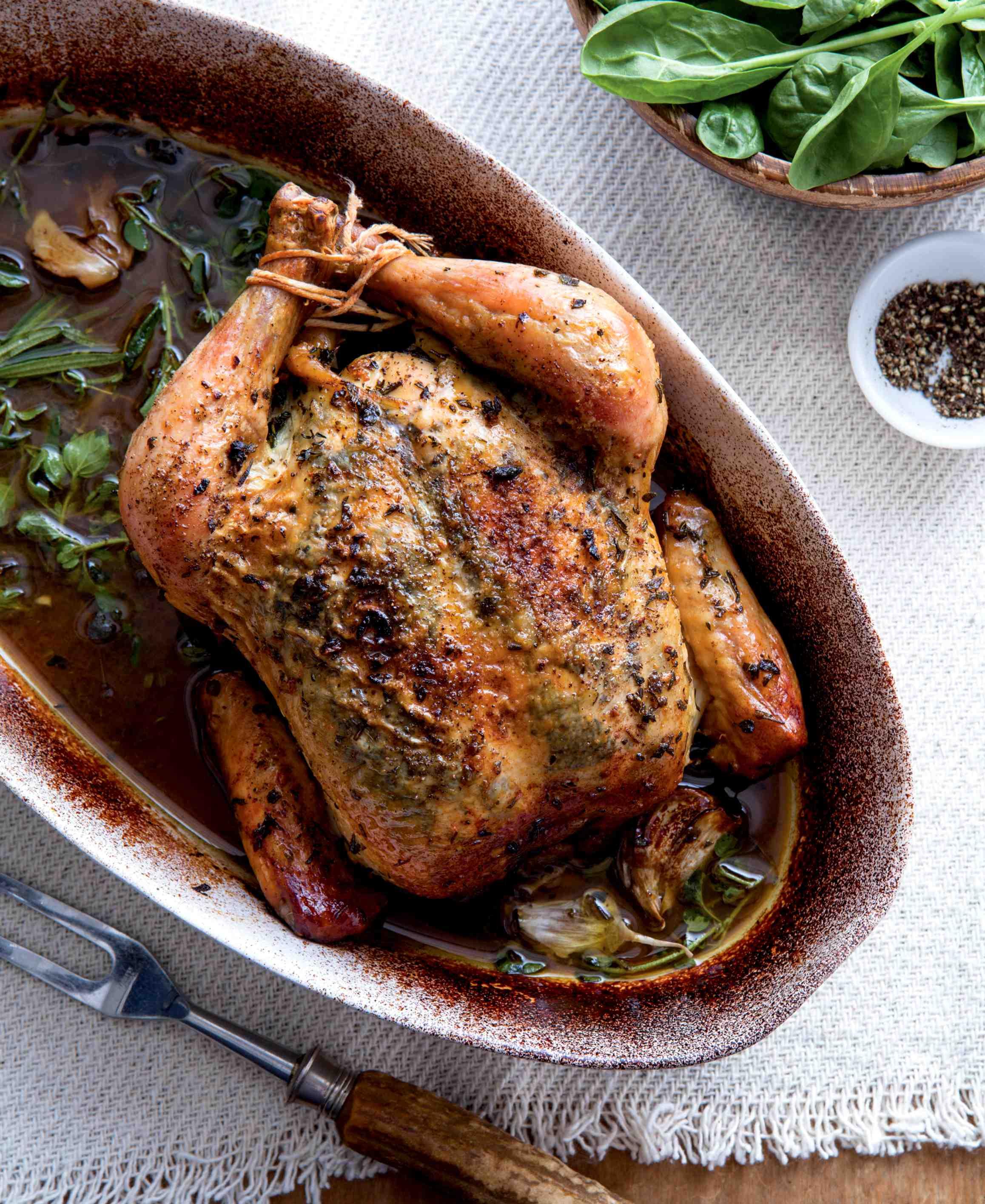 Pečené bylinkové kuře sVin Santo