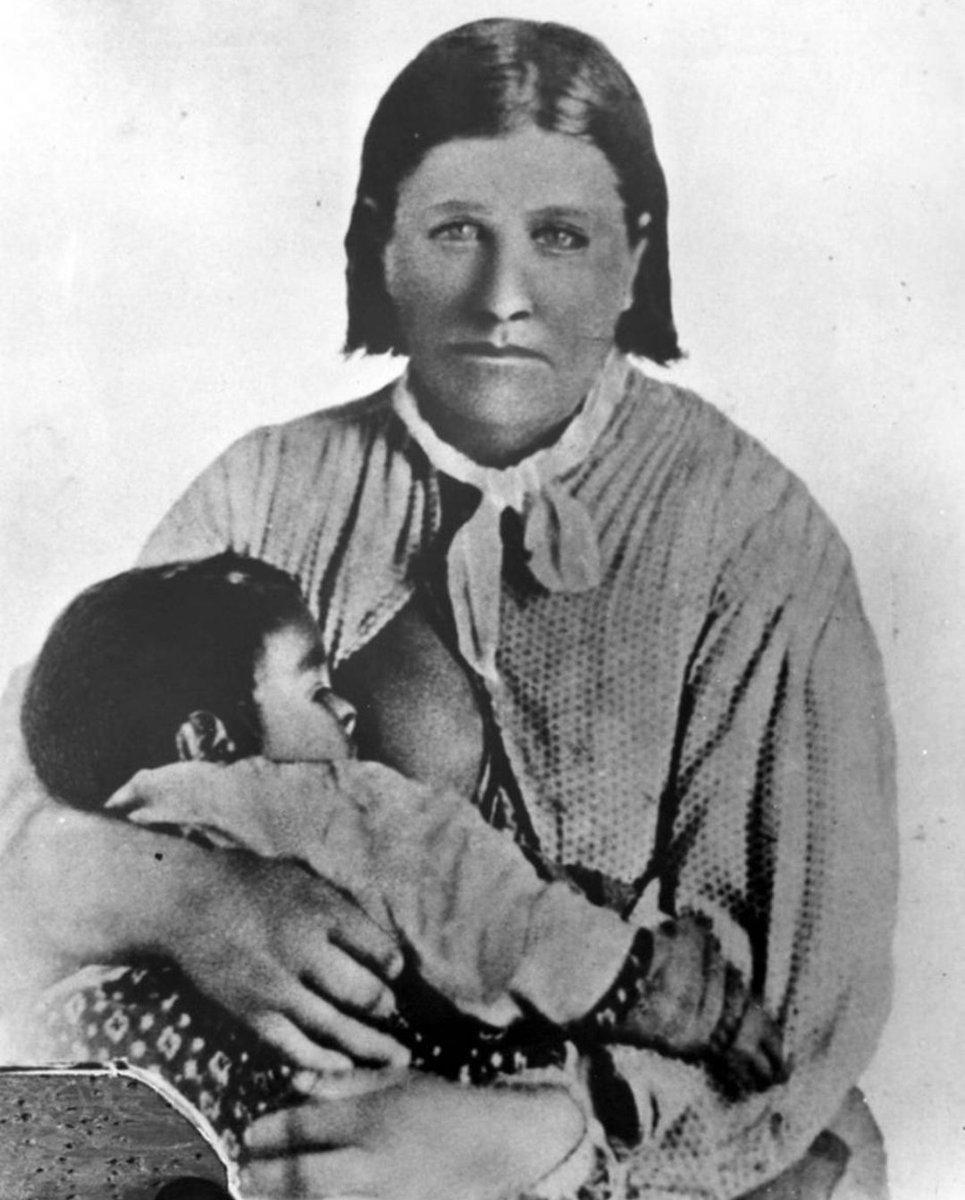 bílá žena z roku indián