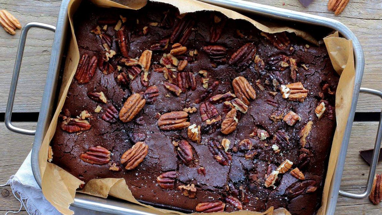 Brownies s pekanovými ořechy