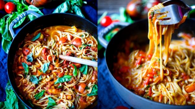 Špagety s rajčatovou omáčkou