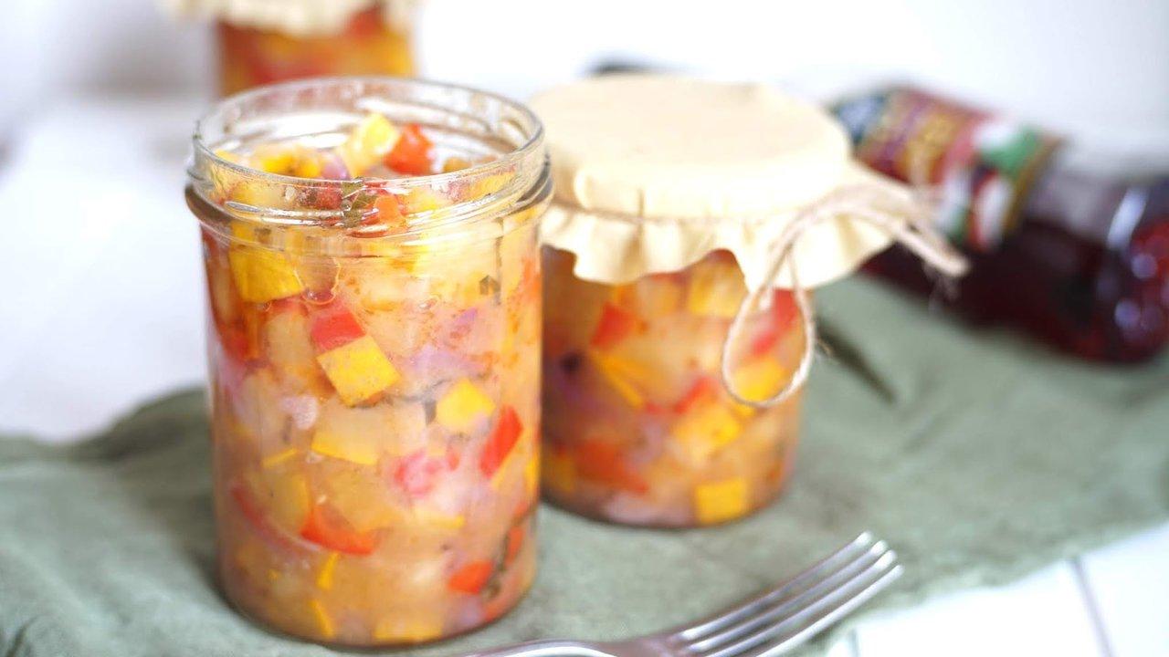 Cuketová salsa