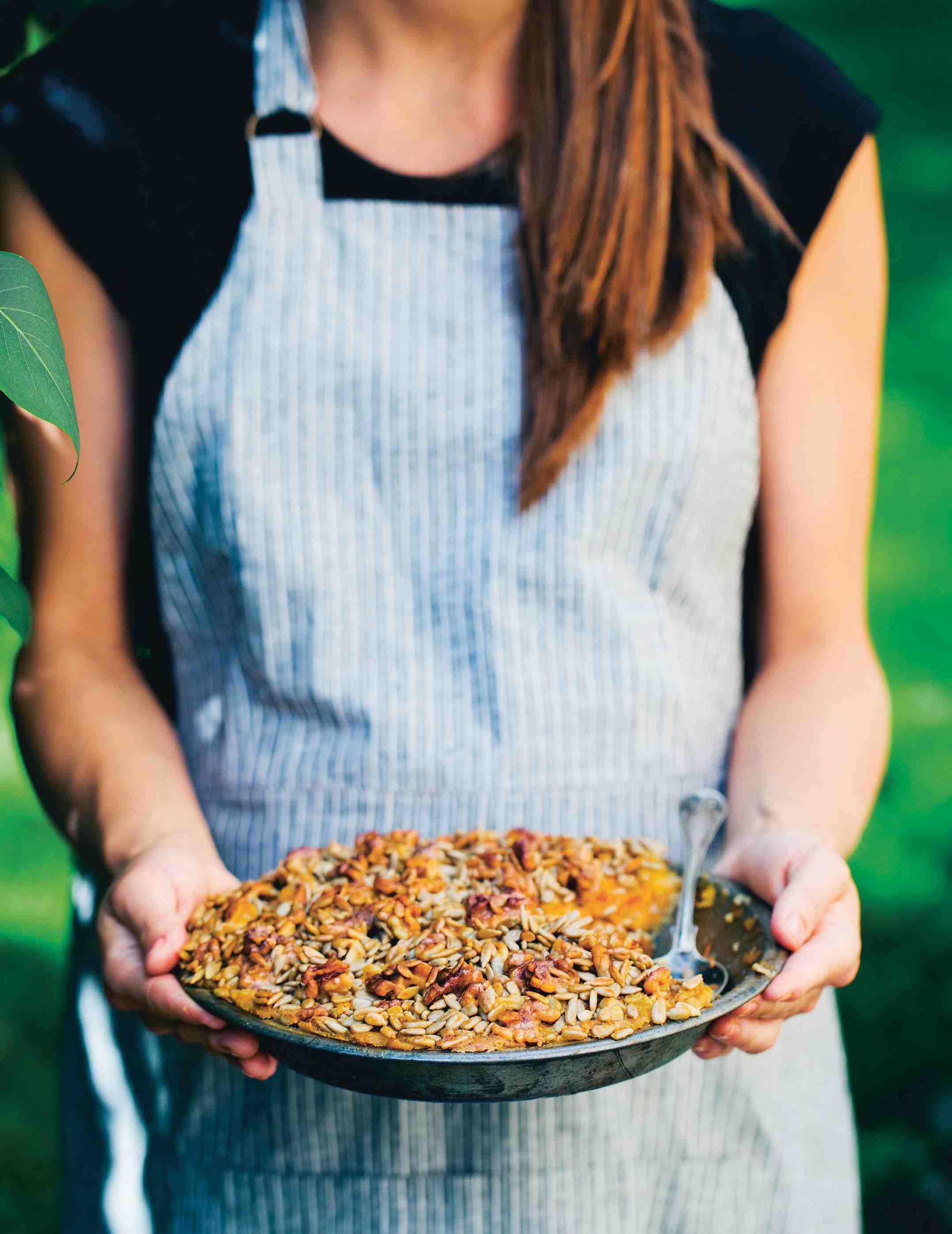 Pečená ovesná kaše àla mrkvový koláč