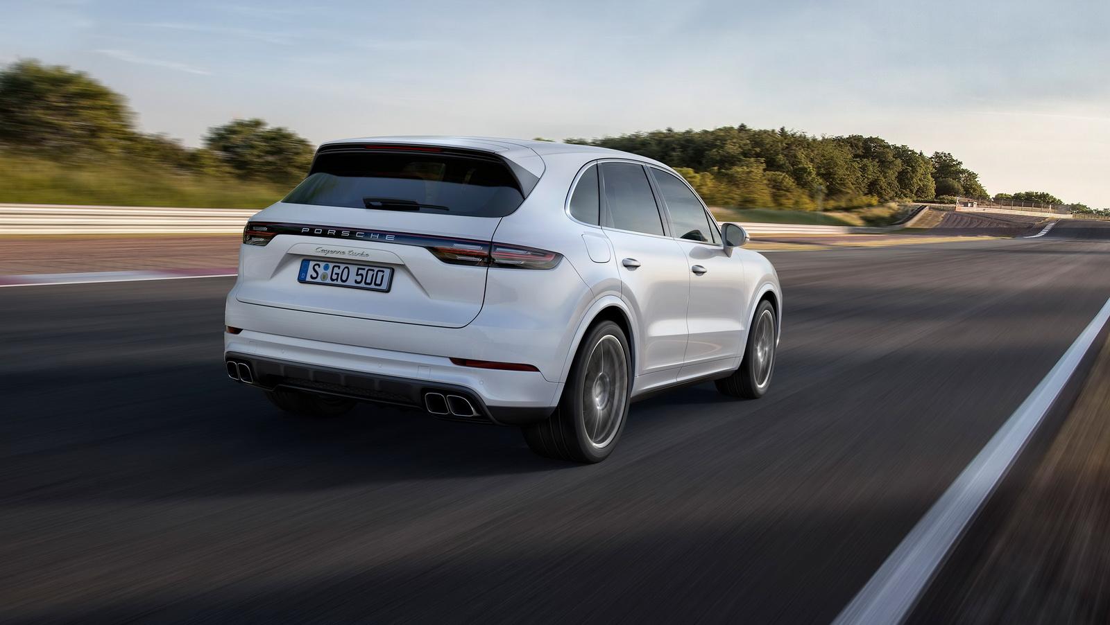 Noviy porsche cayenne turbo 2018
