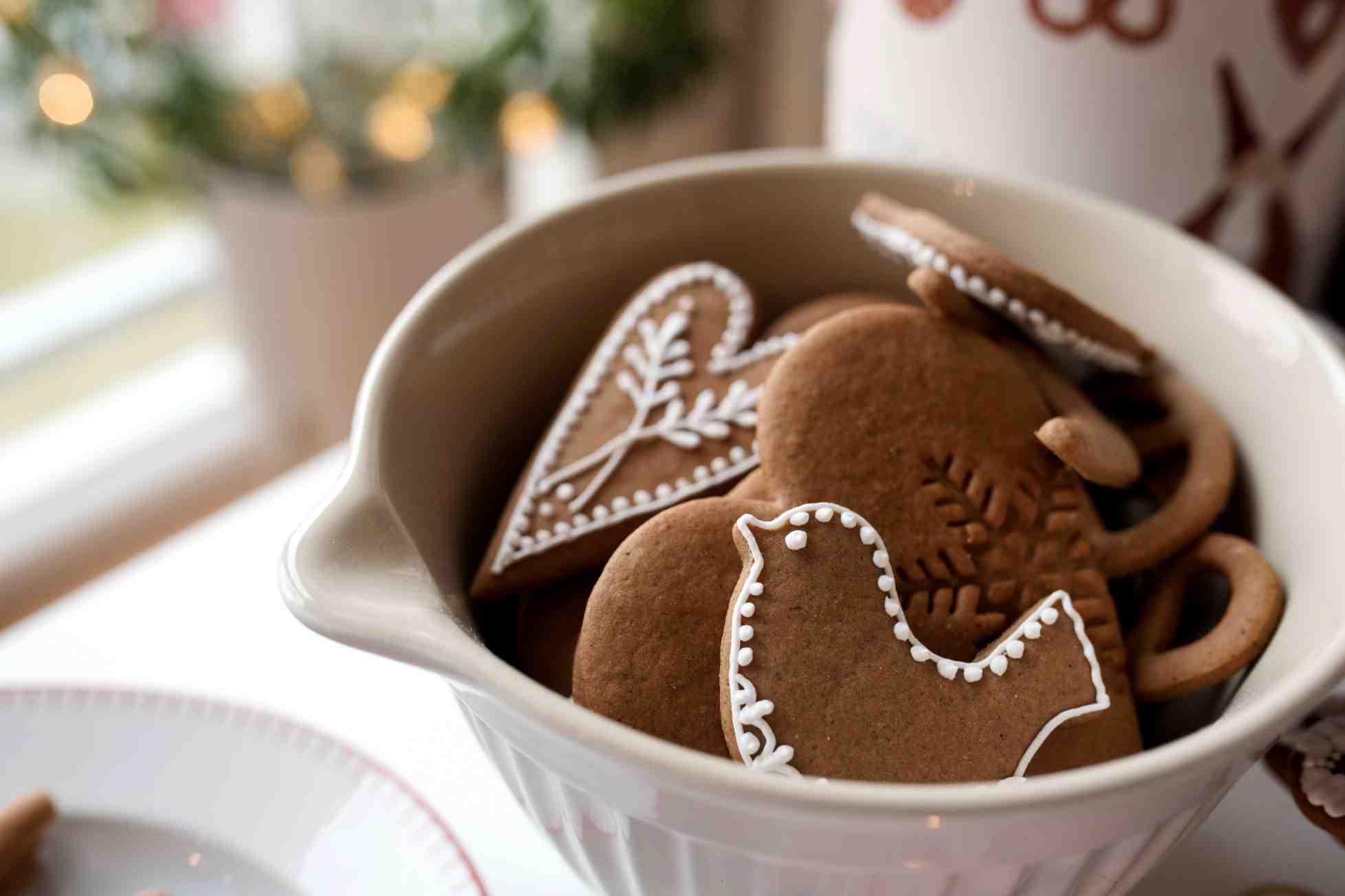 Měkké vánoční perníčky smedem