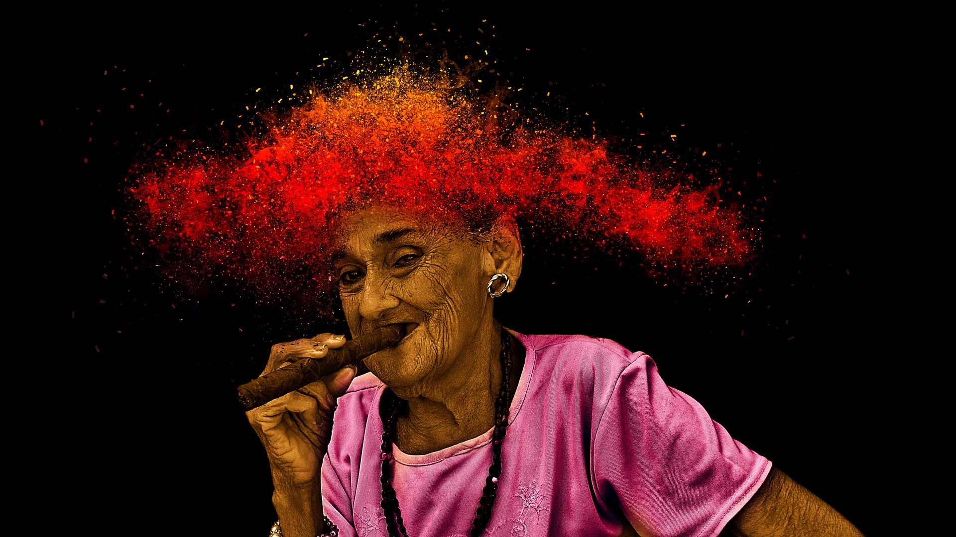 Babičky kouření