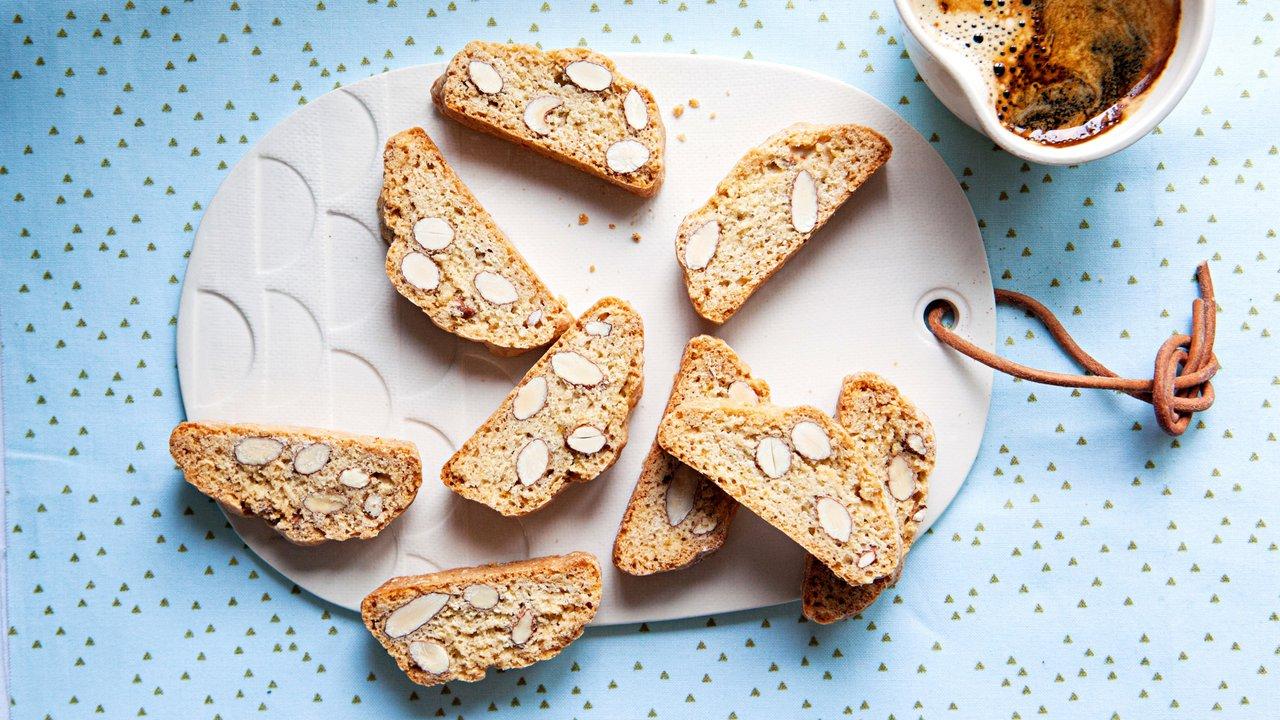 Mandlové sušenky Cantuccini
