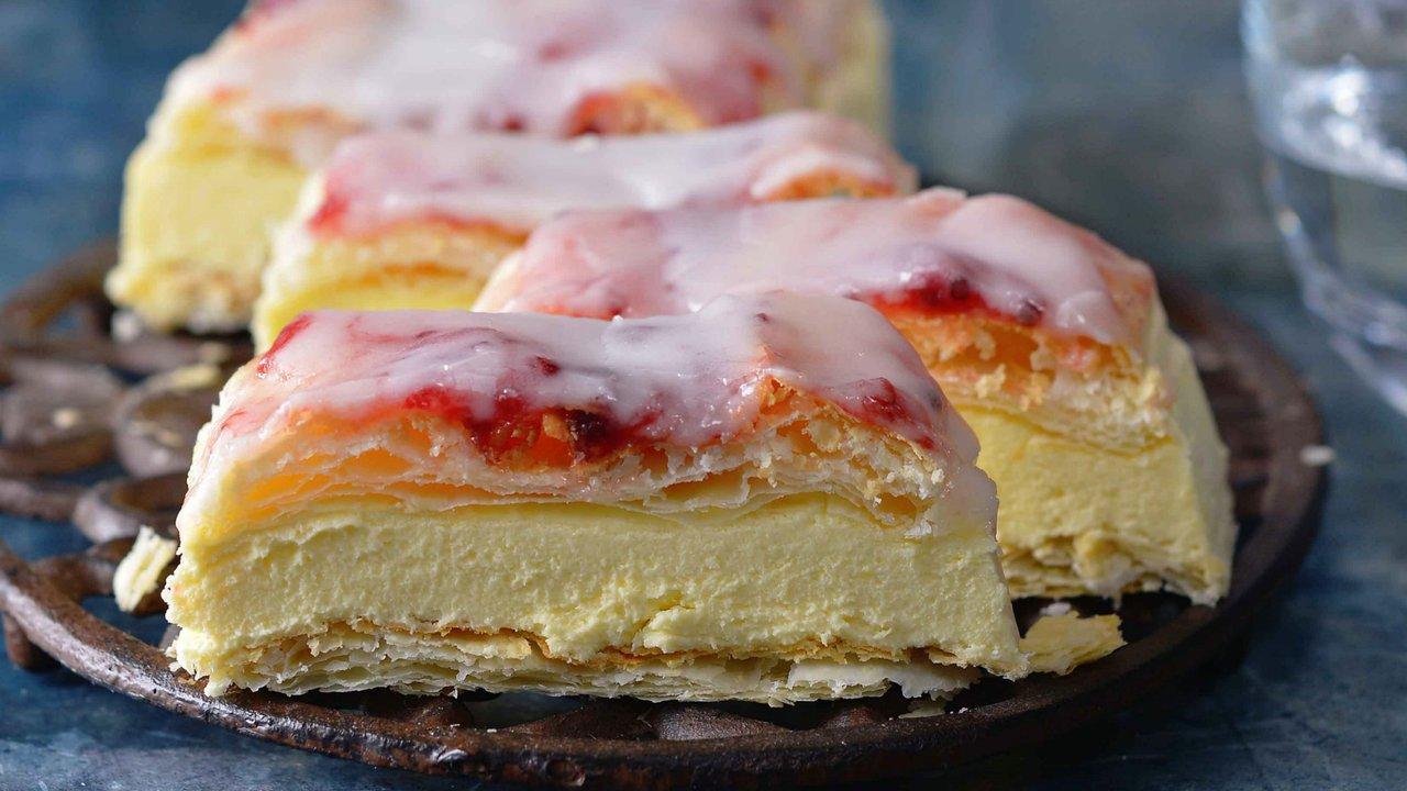 Retro dezerty: Žloutkové řezy