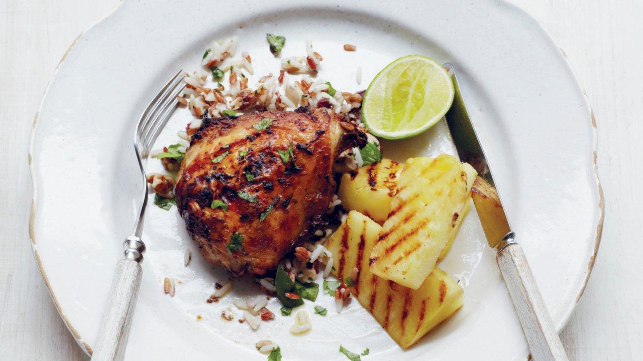 Česnekovo-limetkové kuře