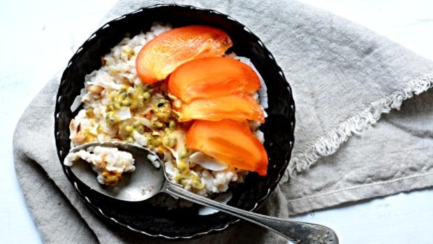 Snídaně plná energie – rýžová kaše smučenkou