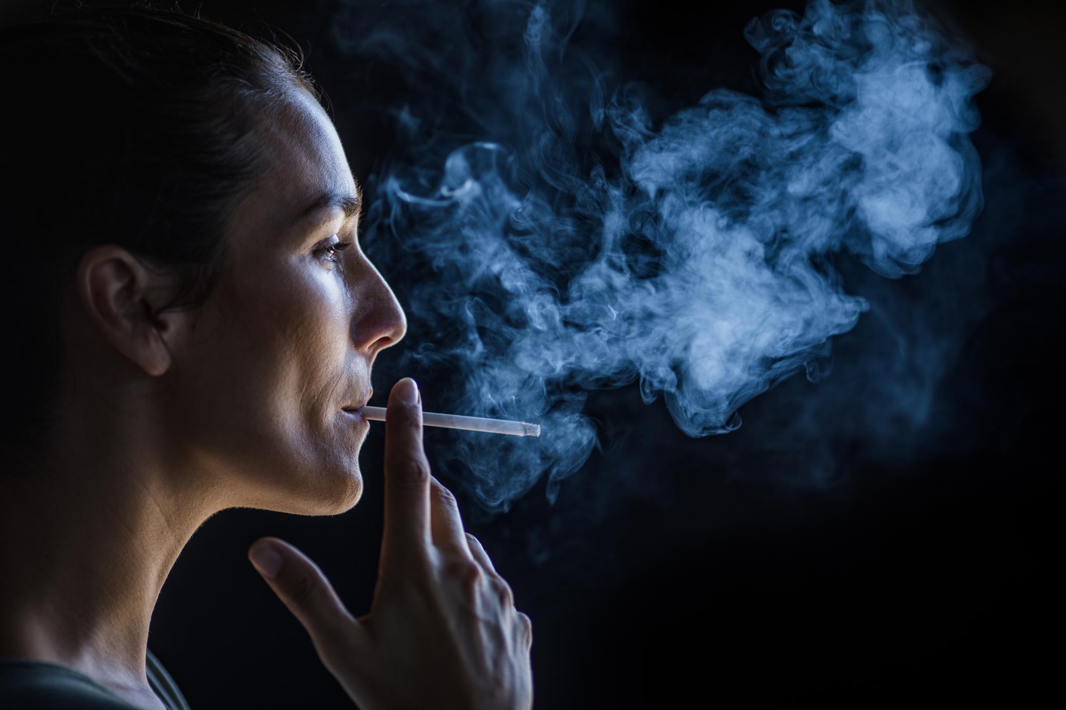 Francouzský sekretář kouření