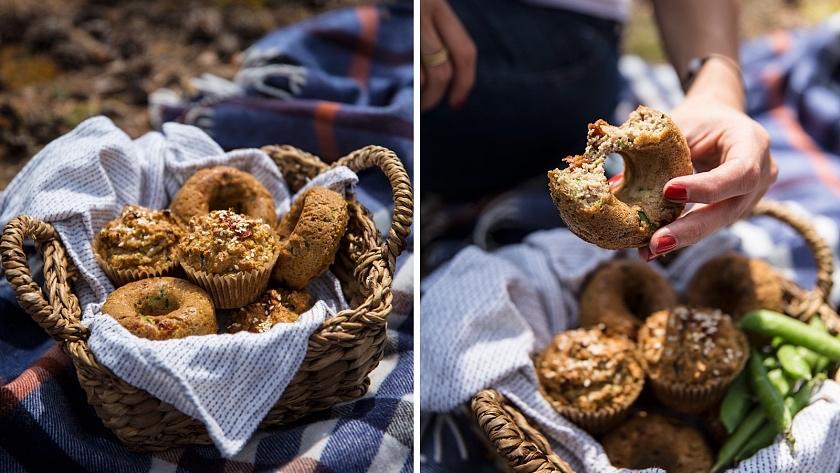 Bezlepkový cuketový muffin/donut/chléb