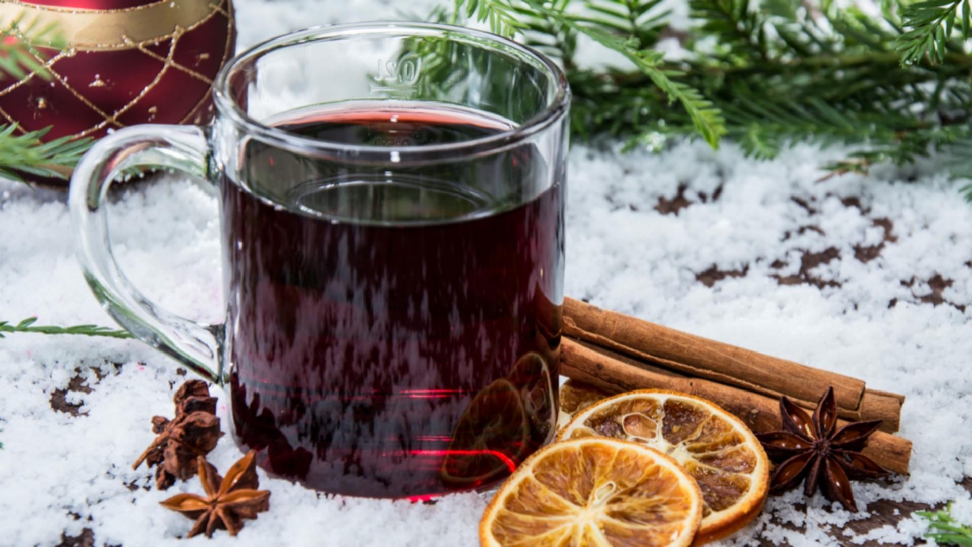 Svařené víno (vine brûlée)