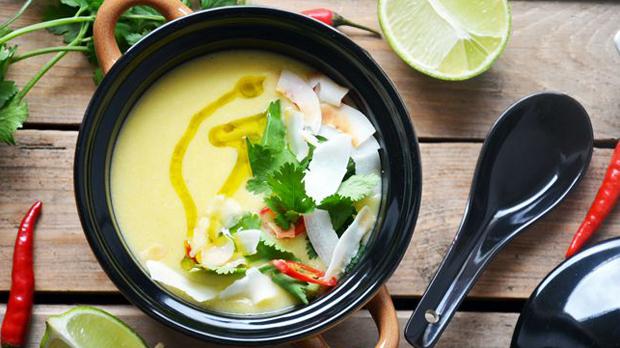 Kokosovo-kukuřičná polévka