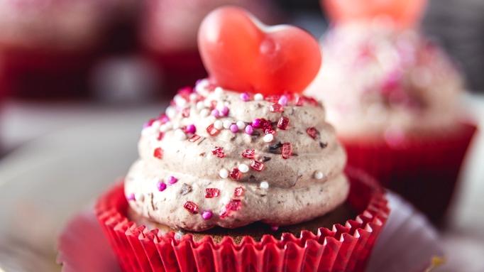 Čokoládové cupcakes s kakaovým krémem