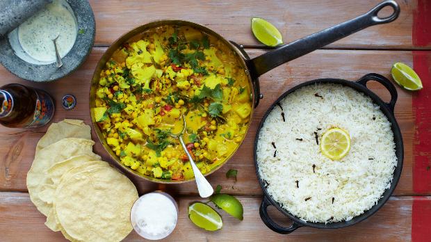 Zeleninové kari z Keraly