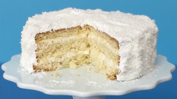 Kokosový dort s limetkou