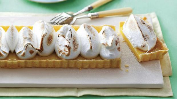 Citronový dortík s limoncello