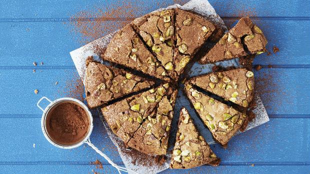 Čokoládové brownies sořechy