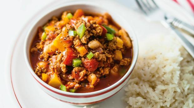 Vegetariánské chilli con carne