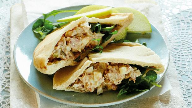 Kapsičky s tuňákovým salátem