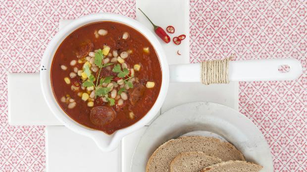 Mexická rajská polévka