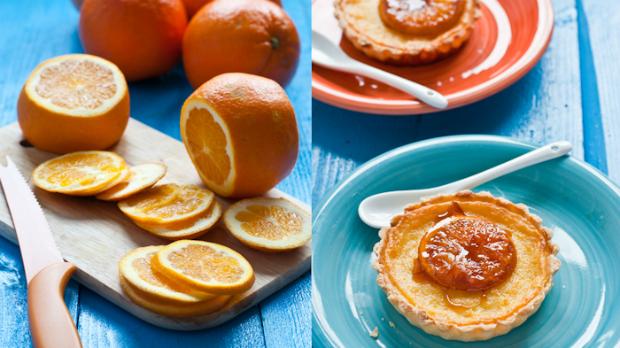 Pomerančové koláčky