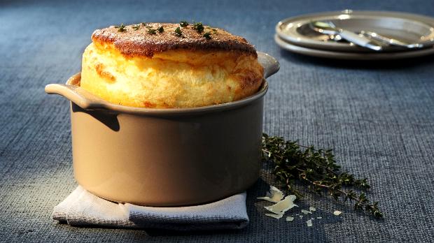 Krémové sýrové suflé