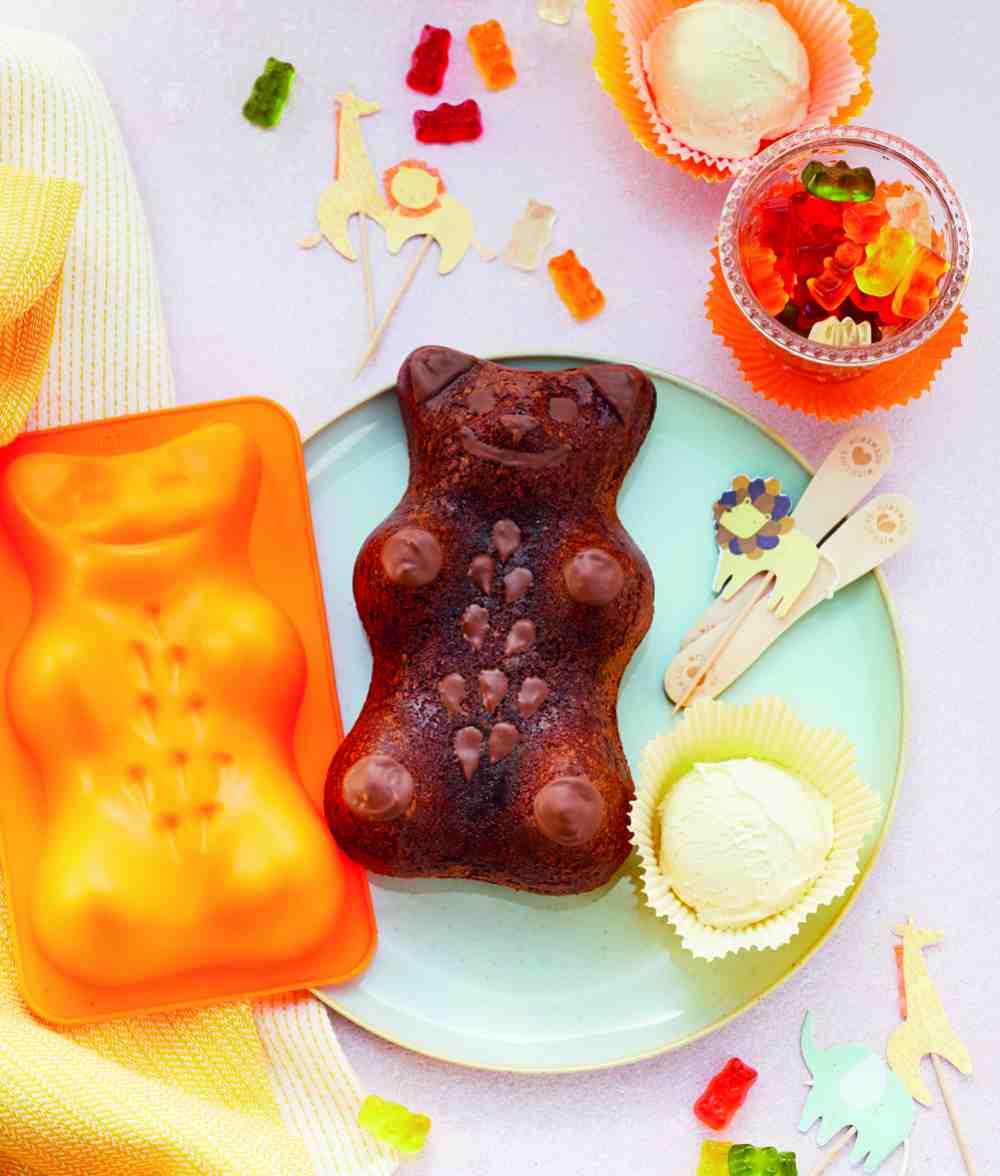 Čokoládový medvídek brownie